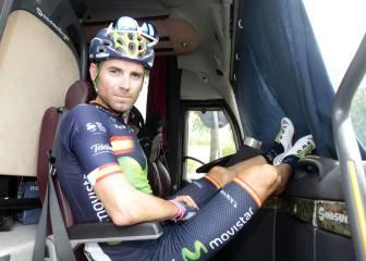 Valverde araña 4 segundos y llega fortalecido a la montaña