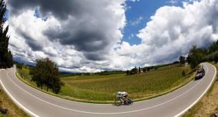 La novena etapa del Giro en imágenes