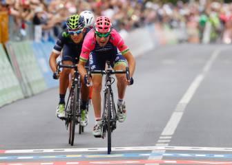 Ulissi ganó, Nibali lo intentó y Jungels abre más hueco