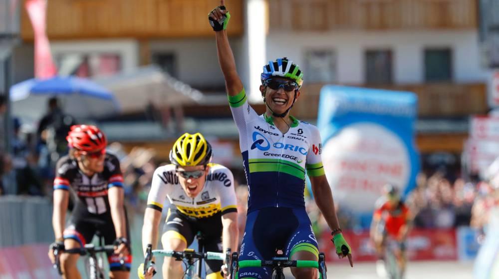 Chaves gana la etapa reina y Kruijswijk es la nueva maglia rosa