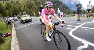 """Kruijswijk: """"Defenderé el liderato en lo que queda de Giro"""""""