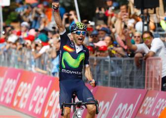 La decimosexta etapa del Giro en imágenes