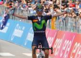 Exhibición de Valverde: gana la etapa y regresa al podio