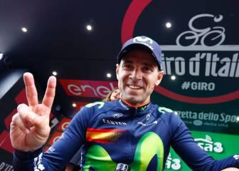 """Valverde: """"Quería reventar la carrera, el triunfo y el podio"""""""