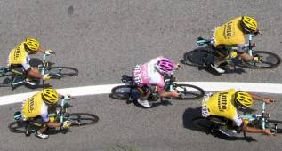 La decimoséptima etapa del Giro en imágenes