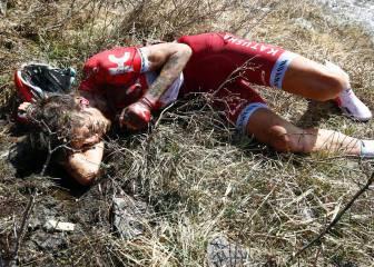 La décimo novena etapa del Giro en imágenes