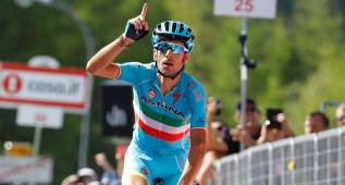 Chaves se viste de rosa y Nibali saca a Valverde del podio