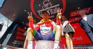 Chaves sería el 2º sudamericano en ganar el Giro de Italia