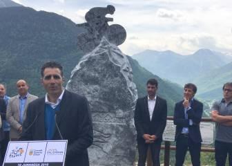 Los siete españoles ganadores del Tour, homenajeados