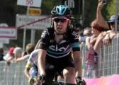 Mikel Nieve, maillot de la montaña del Giro de Italia