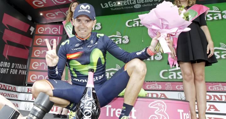 Valverde: el 16º que hace podio en las tres grandes rondas