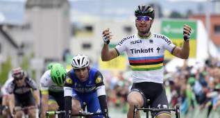 Sagan gana la etapa y un corte le da el liderato a Roelandts
