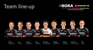 Bora-Argon presenta su equipo para el Tour de Francia