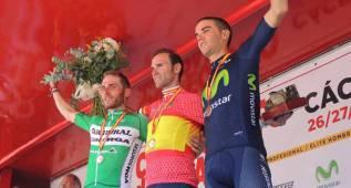 Contador, Purito y Valverde, en los Campeonatos de España