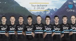 Froome liderará al Sky en el Tour junto con Landa y Nieve