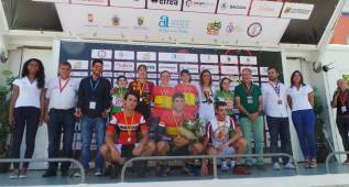 Anna Sanchis logra su cuarto título nacional de contrarreloj