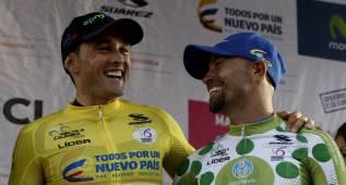 Vuelta a Colombia: Ortega gana a Sevilla por dos segundos