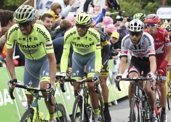 Contador acusa las caídas y se deja 48 segundos en la meta