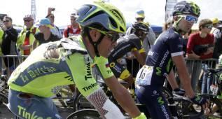 "Contador: ""Pasé mala noche, pero tengo la moral alta"""