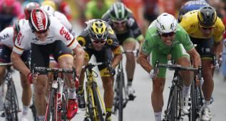 Tercera etapa del Tour de Francia