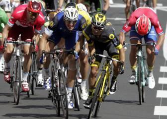 Kittel gana su primer sprint en vísperas del Macizo Central