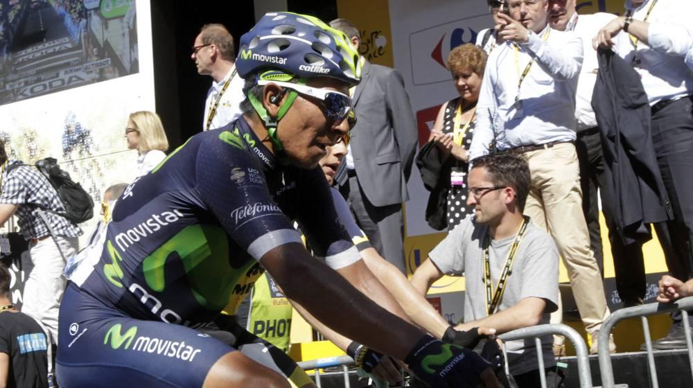 """Nairo: """"Contador está vivo, está a 1:30 y sigue en la pelea"""""""