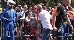 Michael Morkov, primer abandono del Tour de Francia