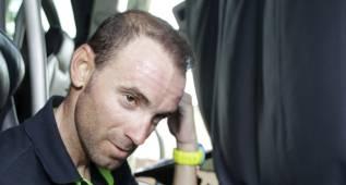 """Valverde: """"El golpe de Contador fue muy duro, es una pena"""""""