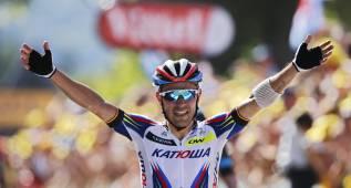 Purito ha subido al podio en Mundial, Tour, Vuelta y Giro