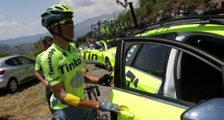 Alberto Contador pasará hoy una revisión médica en Madrid