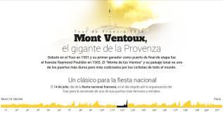 Así es el Mont Ventoux, el coloso francés para el 14 de julio