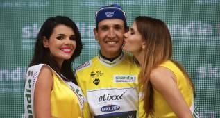 Davide Martinelli, primer líder de la Vuelta a Polonia