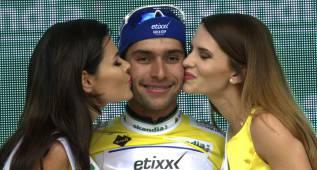 Fernando Gaviria, etapa y liderato en el Tour de Polonia