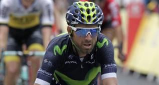 """Valverde: """"Ha sido un incidente de carrera, cosas del ciclismo"""""""