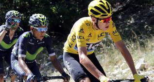 Froome tomará la salida a las 16:39; Quintana, a las 16:33.
