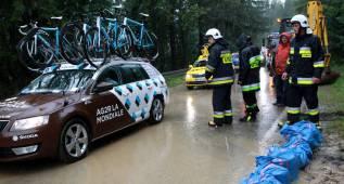Suspendida la sexta etapa del Tour de Polonia por mal tiempo