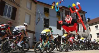 La 16ª etapa del Tour de Francia en imágenes