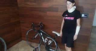 Una detenida tras arrollar a una ciclista y darse a la fuga