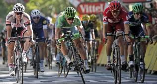 Sagan redondea el hat-trick en los dominios de Cancellara