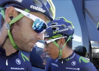 """Valverde: """"Vamos a atacar al líder en los Alpes; hay un plan"""""""