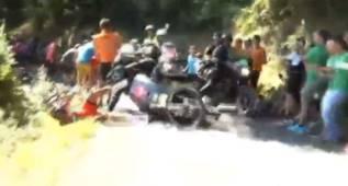 La Klasikoa cambia su trazado por el atropello a Van Avermaet