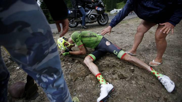 La 19ª etapa del Tour de Francia en imágenes
