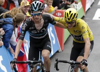 """Froome: """"Mi caída demuestra que el Tour se acaba en París"""""""