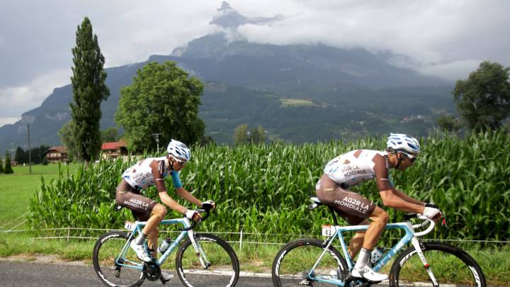 Bardet descendió a 90 km/h para ganar en el Mont Blanc