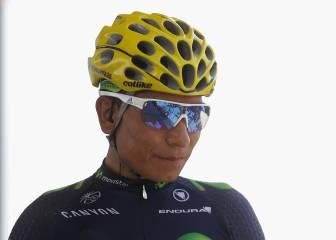 """Nairo: """"He corrido tres Tours y tengo tres podios, estoy feliz"""""""