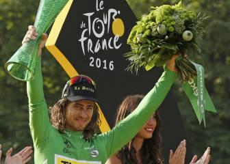 Sagan, el ciclista de moda: tres etapas, verde y combatividad