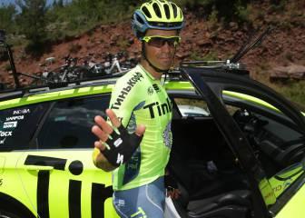 Alberto Contador vuelve a la acción en la clásica de Valverde