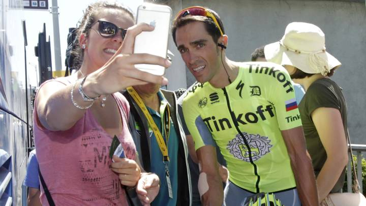 Contador corre en Burgos con la mente en la Vuelta España