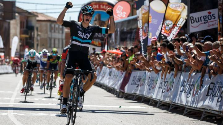 Van Poppel gana la primera etapa de la Vuelta a Burgos