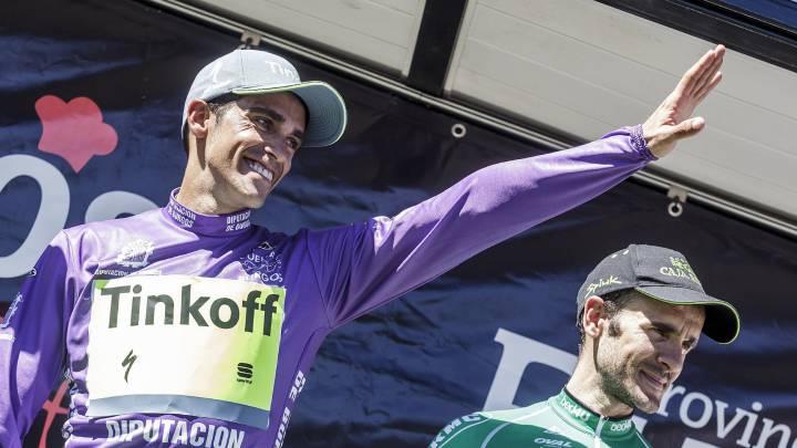Contador gana la Vuelta a Burgos por tan solo un segundo